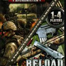 Heavy Fire: Afghanistan + Reload (2 Games) PC-DVD Windows - NEW in DVD BOX