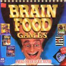 BRAIN FOOD GAMES (6 SUPER TITLES!) for PC - NEW in BOX