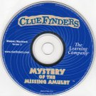 ClueFinders Mystery of Missing Amulet (Ages 9-12) CD Win/Mac - NEW CD in SLEEVE