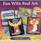 Fun With Real Art (Primary Grades 1-3) CD-ROM for Win/Mac - NEW in Jewel Case