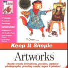 Keep It Simple Artworks (8 Programs) CD-ROM for Windows - NEW in Opened BOX