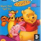 Disney Duos: Winnie & Piglet 2 Pack (Age 3+) PC-CD, 1999 Windows - NEW DVD BOX