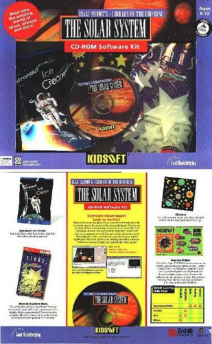 KidSoft - Solar System Kit! (Ages 8-12) CD-ROM for Win/Mac -NEW in BOX