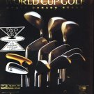 World Cup Golf (2 CD-ROMs) DOS - NEW Sealed Retail BOX