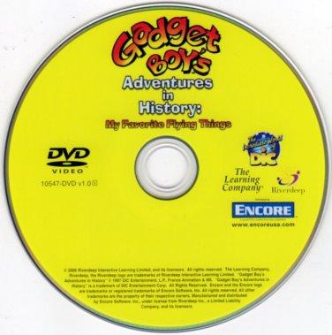 Gadget Boy's Adventure in History: My Favorite Flying Things DVD-VIDEO in SLEEVE