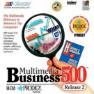 Multimedia Business 500 Release 2 CD-ROM for Windows - NEW in Retail SLEEVE