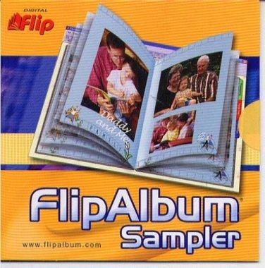 Digital FlipAlbum Sampler (PC-CD, 2002) for Windows - NEW CD in SLEEVE