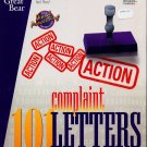 101 Complaint Letters for Windows & DOS - NEW Sealed BOX