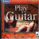Learn To Play Guitar Essentials PC-CD, 2011 for Windows - NEW in Jewel Case