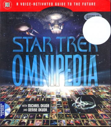 Star Trek Omnipedia CD-ROM for Windows - NEW Sealed BOX