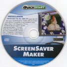 QuickStart: ScreenSaver Maker (PC-CD, 2005) for Windows - NEW CD in SLEEVE