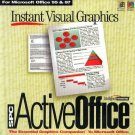 ActiveOffice for MS Office 95 & 97 (PC-CD, 1997) for Windows - NEW CD in SLEEVE