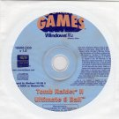 Tomb Raider II & Ultimate 8 Ball (PC-CD, 2000) for Windows - NEW CD in SLEEVE