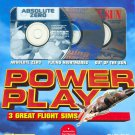 Power Play: 3 Great Flight Sims (3CDs, 1996) Power Macintosh - NEW in BOX
