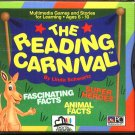 The Reading Carnival (Ages 6-10) (PC-CD, 1993) Windows - NEW Sealed Jewel Case