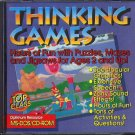 Top Class: THINKING GAMES (Ages 2+) (PC-CD, 1994) for DOS - NEW CD in SLEEVE
