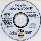 Multimedia Labor & Property Law (PC-CD, 1997) for Windows - NEW CD in SLEEVE
