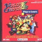 Young Genius: Play-n-Learn (Ages 4-8) (PC-CD, 1996) for DOS - NEW CD in SLEEVE