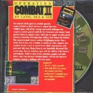 OPERATION COMBAT II: By Land, Sea & Air (PC-CD, 1994) for DOS - NEW CD in SLEEVE