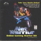 Net Warrior (2CDs, 1997) Online Gaming Starter Kit - NEW CDs in SLEEVE