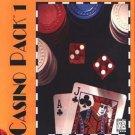Casino Pack 1 + BONUS! (PC-CD, 1996) for Windows 3.x/95 - NEW CD in SLEEVE