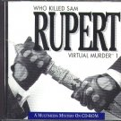 Who Killed Sam Rupert (PC/MAC-CD, 1993) for Win/Mac - NEW CD in SLEEVE