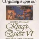 King's Quest VI (PC-CD, 1995) for Windows/DOS - NEW CD in SLEEVE