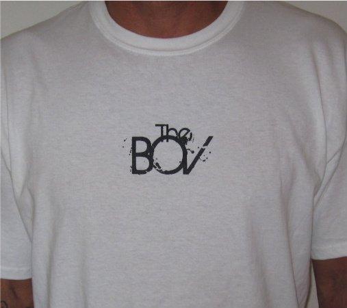 """The BOV"" white t-shirt"