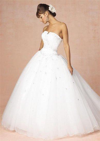 Sexy Wedding Dress Bridesmaid halter Bridal Gown Custom N00006