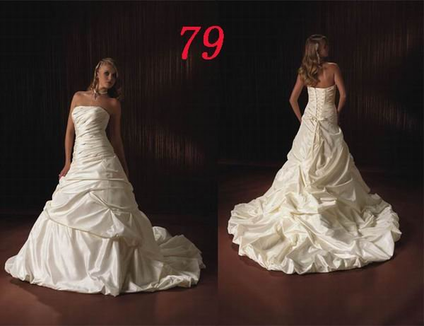 HOT Sexy Corset STYLE Wedding Dress Bridesmaid Bridal Gown Custom