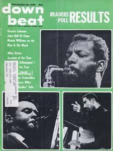 Down Beat - December 25, 1969 - Ornette Coleman, Stan Getz, Jimmy Smith