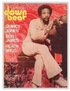 Down Beat - October 23, 1975 - Quincy Jones Cover
