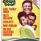 Down Beat - August 11, 1977 - Earl Hines - Dizzy Gillespie - Stan Getz