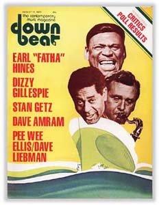 Down Beat - August 11, 1977 - Earl Hines - Dizzy Gillespie - Stan Getz