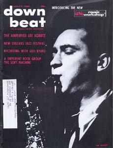 Down Beat - July 11, 1968 - Lee Konitz cover