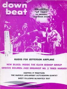 Down Beat - February 5, 1970 - Jefferson Airplane cover