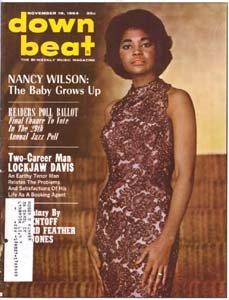 Down Beat - November 19, 1964 - Nancy Wilson cover