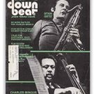 Down Beat - May 13, 1971 - Stan Getz & Charles Mingus cover