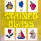 Free Ship ~ STAINED GLASS 34 Designs MURRAY/CAFFEE Rainbow ~ Vintage