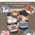 Free Ship ~ Aanraku Stained Glass SG BELT BUCKLES Dannette Diaz PATTERN BOOK SC ~ New