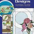Free Ship ~ CONTEMPORARY DESIGNS Anna Croyle STAINED GLASS PATTERN BOOK ~ L/N