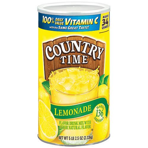Country Time Lemonade 84 quarts