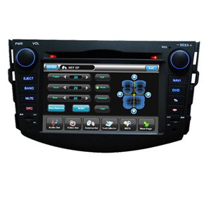 2 Din Fixed Touch Screen Panel Car DVD Player HL-8718B Special for TOYOTA NEW RAV4