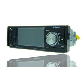 4.0 Inch 1 Din In-Dash Car DVD Player HL-4100GB + GPS