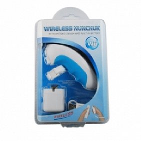 Wireless Nunchunk Controller for Nintendo Wii