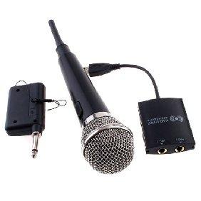 Wireless 2 in 1 Karaoke Microphone