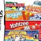 Monopoly, Boggle, Yahtzee , Battleship -- 4 Game Pack! (Nintendo DS, 2005)
