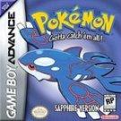 Pokemon Sapphire Version (Game Boy Advance, 2003)