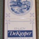 Dekuyper Liquor Sign Like New Made of Ceramic Tiles and Wood