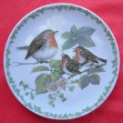 Natures Children The Robins Royal Copenhagen Plate